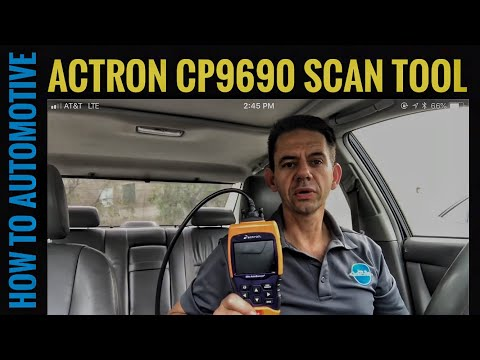 How to Automotive's Tool Review of the Actron CP9690 Scan Tool