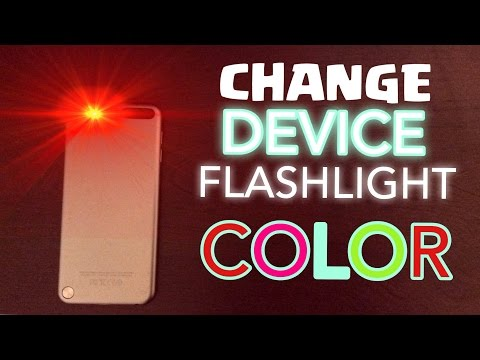 Change Device Flashlight Color?!? | Simple Life Hack
