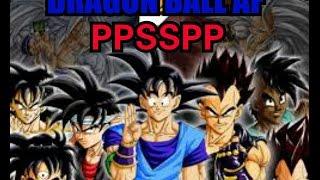 Dragon Ball AF PPSSPP (shin budokai mod)