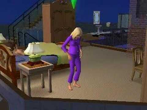 The sims 2 nascimento do bebe see no exit youtube - Feter les 1 an de bebe ...