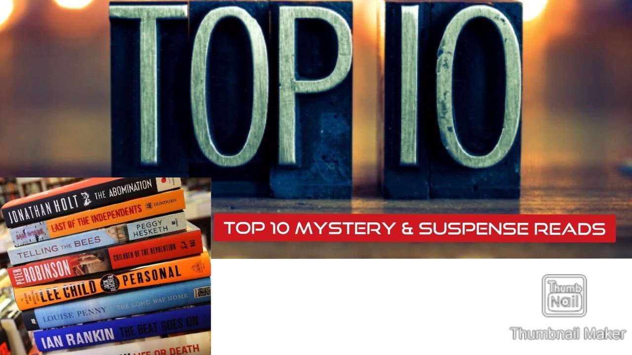 Top 10 Recommended Mystery & Suspense Reads