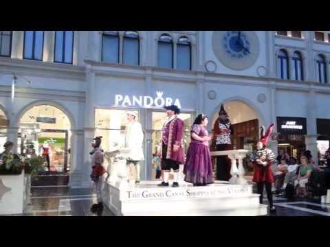 The Venetian Las Vegas Opera 2013 The Grand Canal Shoppes