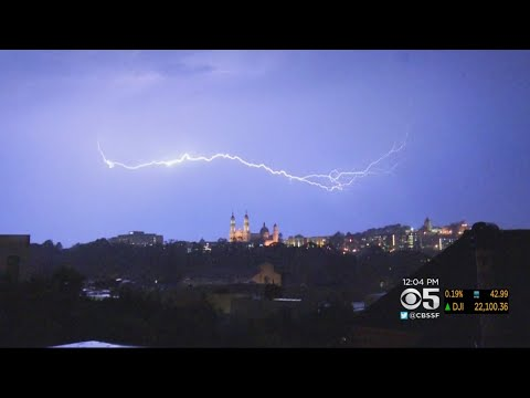 Lightning Storm Gives Bay Area A Spectacular Show In Sky