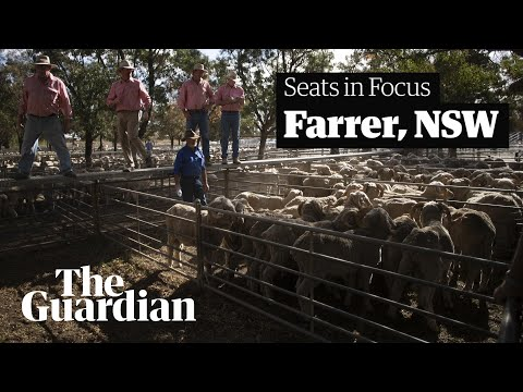 Farrer's fury: in rural NSW, voters' anger over water is at boiling point – video