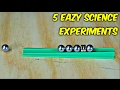 5 Simple Science Experiments