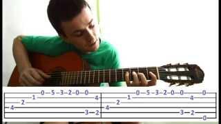 Guitar chords: Под небом голубым - Борис Гребенщиков, Франческо Де Милано - Канцона (Урок)