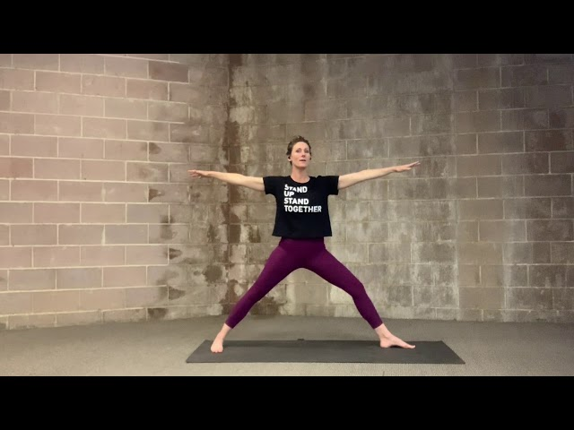 Yoga Break for Stability and Ease with Laura Abbott-Coan