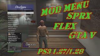MOD MENU GTA V PS3  1.27/1.28 DEX/CEX BLES/BLUS +DOWNLOAD