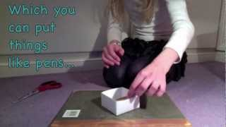 How To Make An Easy Paper Box