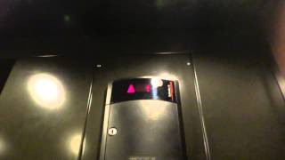 Schindler HT 321A elevator - Mellon Building - Chatham University - Shadyside, Pittsburgh, PA