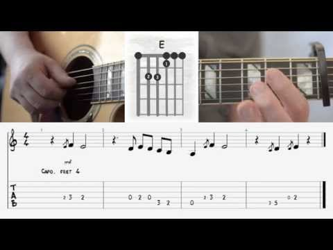 Philipp Dittberner- Wolke 4 -How to play I Akkorde I Chords - Tutorial - Guitar Lesson