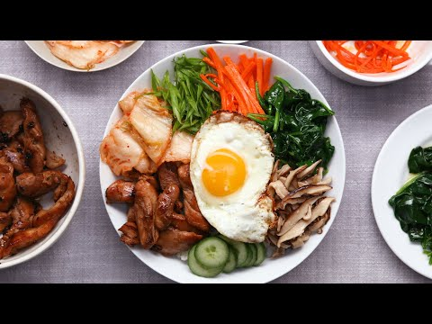 This Easy Chicken Bibimbap Recipe Will Be Your New Favorite • Tasty