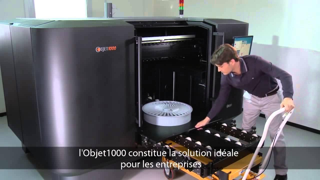 Objet 1000 plus grande imprimante 3d industrielle de for Commode metallique industrielle
