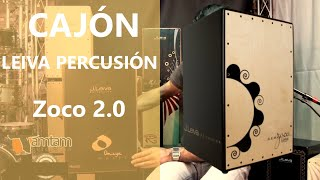 Leiva Percussion Cajon Zoco 2,0
