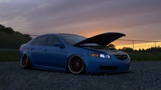 Stanced Acura TL!