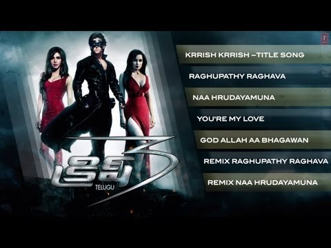Krrish 3 Full Songs Jukebox - Telugu - Hrithik Roshan, Priyanka Chopra