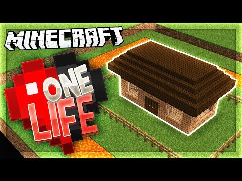 THE MOST SECURE HOUSE EVER!   One Life SMP #7