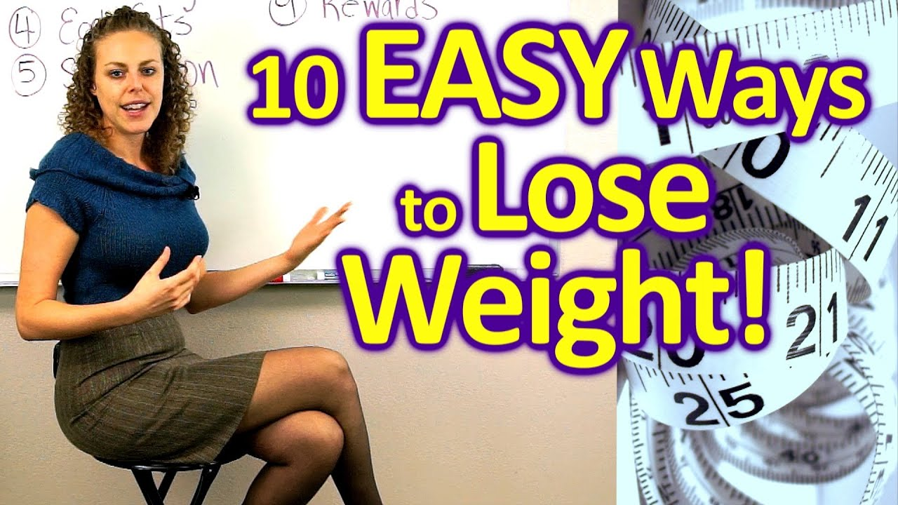 10 Easy Ways To Lose Weight & Get Healthy! Weight Loss Tips, How To Diet,  Food, Health Coach  Youtube