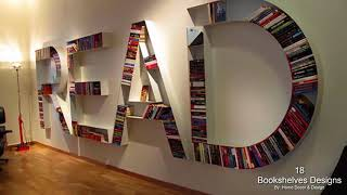 18 Cool And Unique Bookshelves Designs For Inspiration