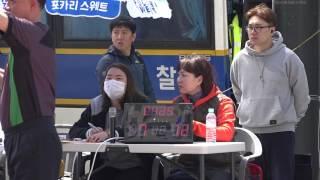 제 1회 서울 광화문 길거리 농구대회 A코트 8강 1경기 CJ드림스 vs 현대자동차 후반전