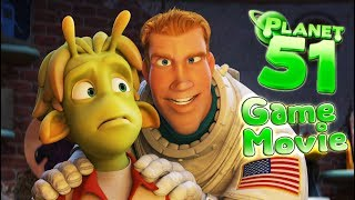 Planet 51 All Cutscenes | Full Game Movie (PS3, X360, Wii)