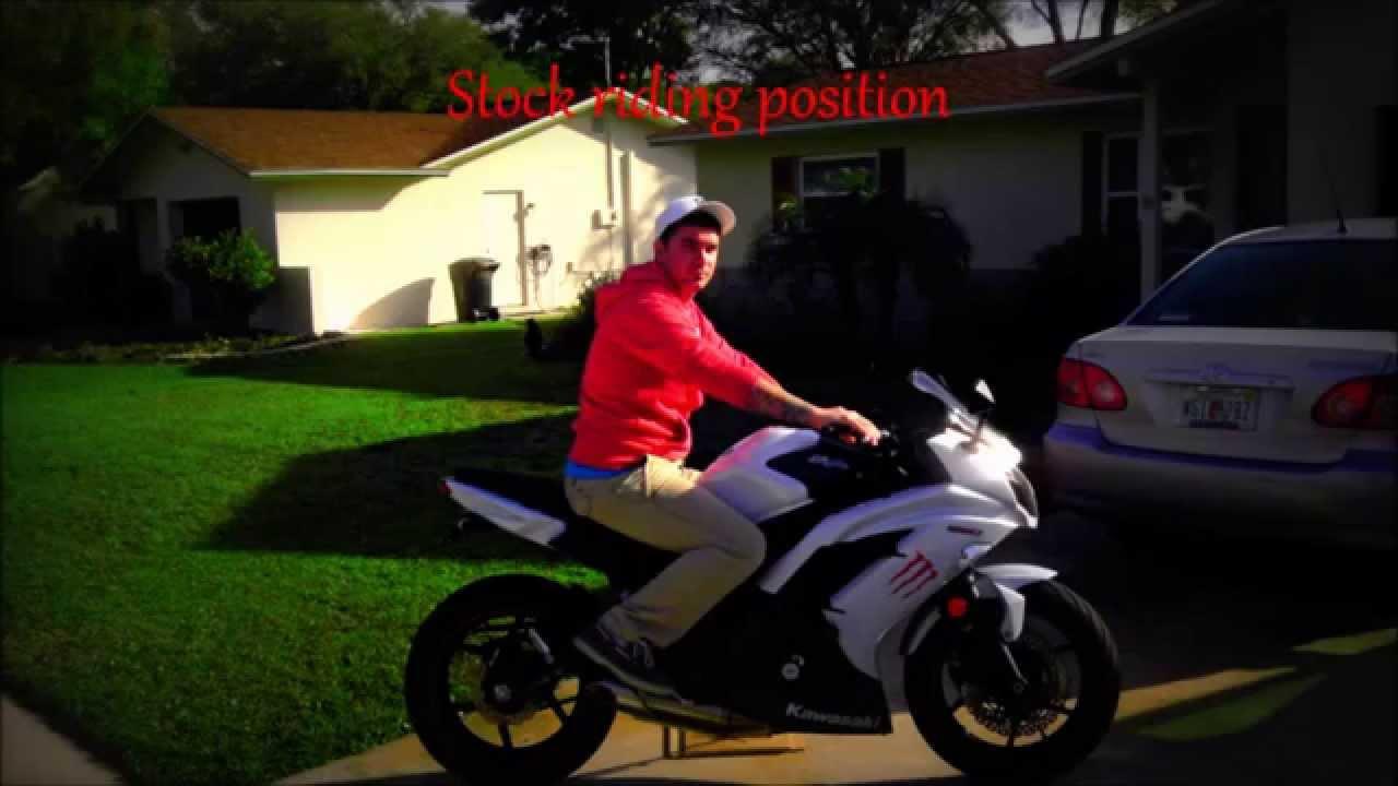 Kawasaki Ninja Seating Position
