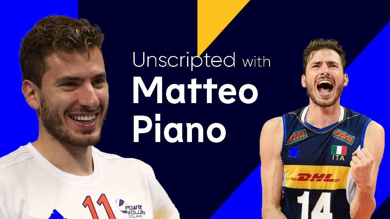 Piano talks lockdown, Tokyo 2020, working out at home & playing Volleyball for Brazil! | Unscrip