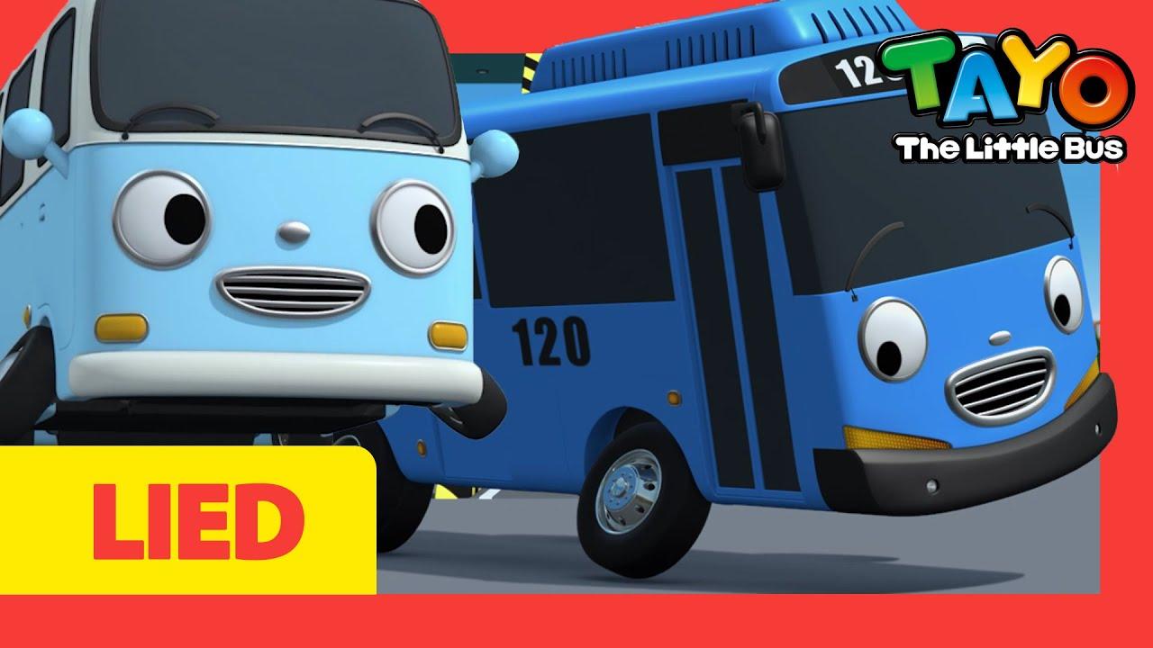 Die Räder vom Bus l Wheels on the bus German l Tayo Deutsch Kinderlieder l Tayo Der Kleine Bus