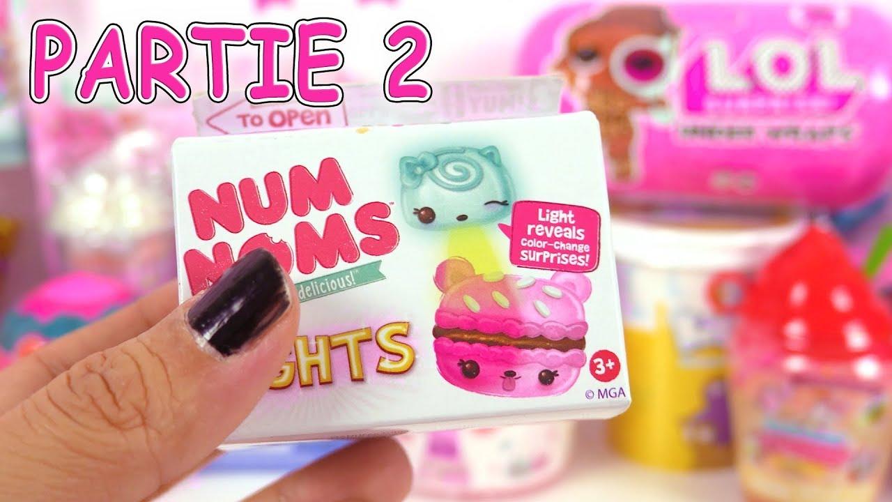 Jouets Surprises Num Noms Slime Poupées Lol Under Wraps Partie 2