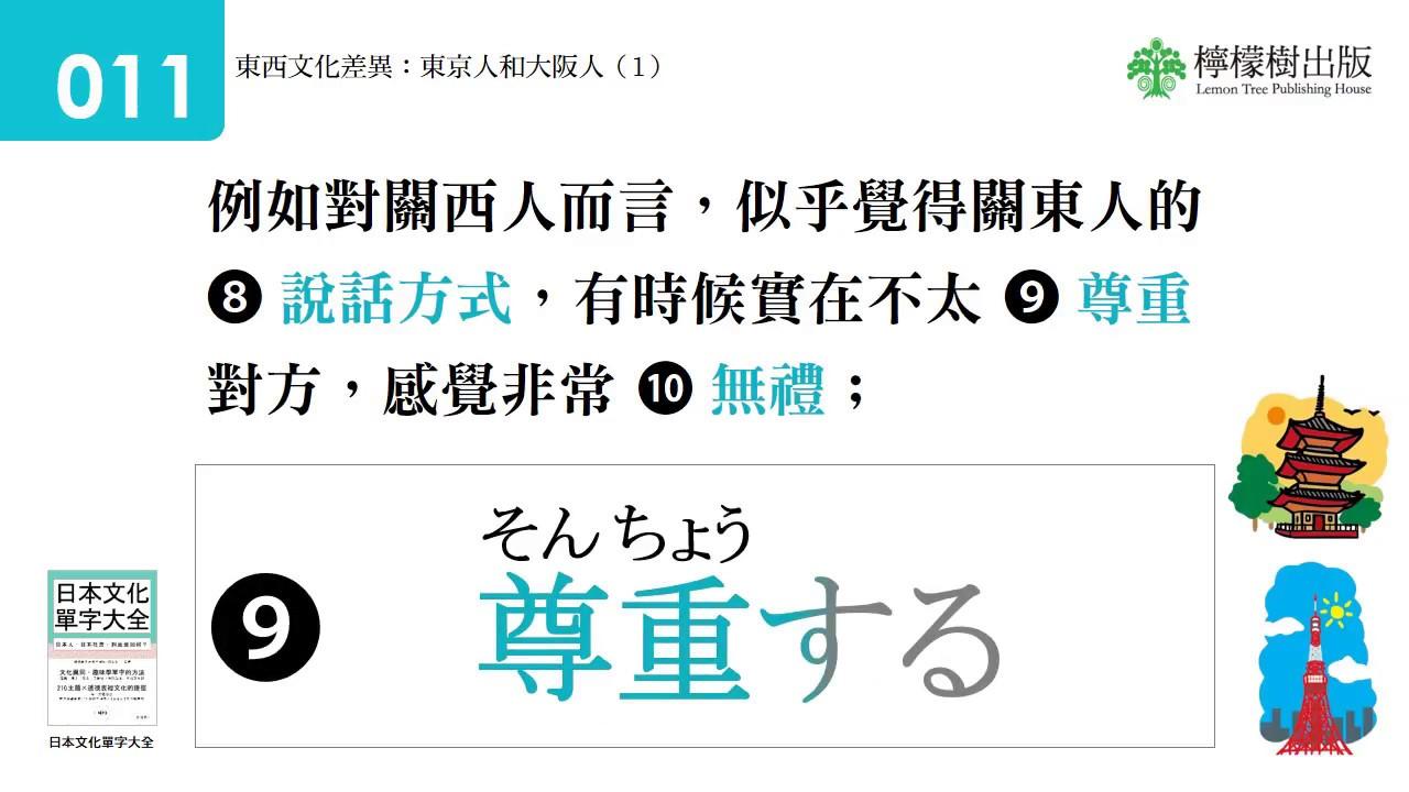 日本文化單字大全(檸檬樹出版)