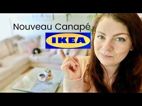 SHOPPING VLOG - Opération Canapé chez IKEA : choix, achat, livraison et montage | Canapé IKEA KIWIK