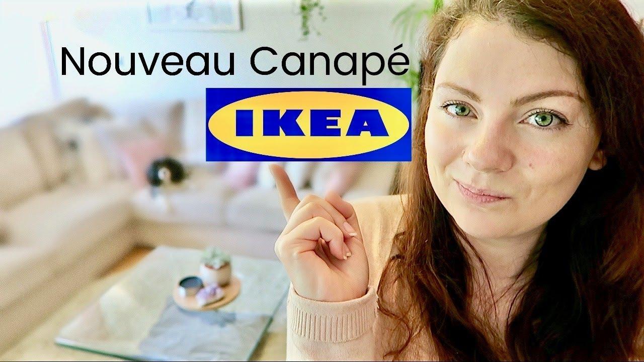 shopping vlog op ration canap chez ikea choix achat livraison et montage canap ikea. Black Bedroom Furniture Sets. Home Design Ideas