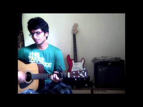 Jeene Laga Hoon | Ramaiya Vastavaiya | Unplugged Guitar Cover With Chords