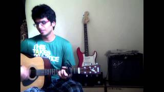 Jeene Laga Hoon | Ramaiya Vastavaiya | Unplugged Guitar Cover | With Chords