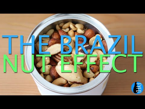 The Brazil Nut Effect