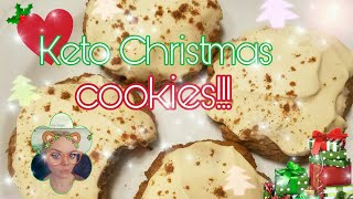 Keto Lemon/Orange Christmas Cookies Recipe