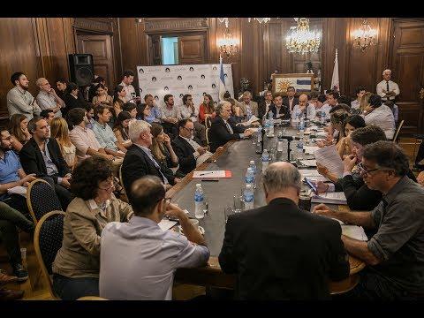 """<h3 class=""""list-group-item-title"""">Se presentó el presupuesto 2018 del Ministerio de Desarrollo Urbano y Transporte</h3>"""