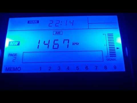 Trans World Radio in Arabic1467 MW  received in west of Algeria