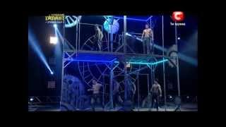 Україна має талант 4! Полуфинал: «WORKOUT KIEV» [21.04.12]