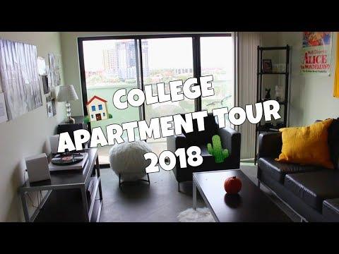 COLLEGE APARTMENT TOUR 2018