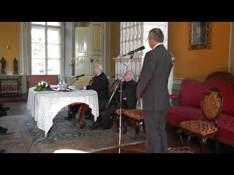 Miloslav Vlk előadása a Váci Püspöki Palotában (teljes)