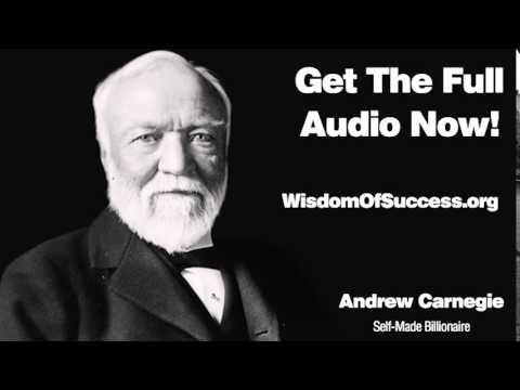 FAITH IN INFINITE INTELLIGENCE - Andrew Carnegie