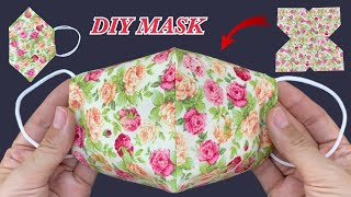 New style Diy Fabric Face Mask Easy To Make Sewing Tutorial Easy Fast How to Make Face Mask