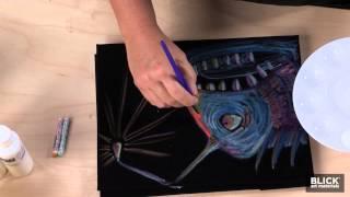 Black Velvet Mystery Paintings - Lesson Plans