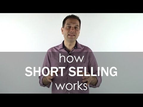 How Short Selling Works