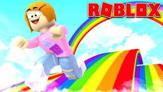 Roblox | Escape The Rainbow Obby With Molly!