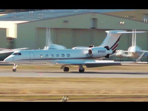 Gulfstream GV Approach and Landing