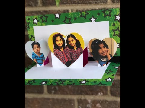 Personalized Pop up card for kids/ Surprise card for friendship day| easy diy for kids