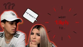 MOST LIKELY TO CHALLENGE.. || HILARIOUS!! || SHE FARTS!!