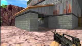 Обучение обучалка Школа Counter Strike Учимся стрелять с M4A1 и USP видео уроки кс cs 1 6